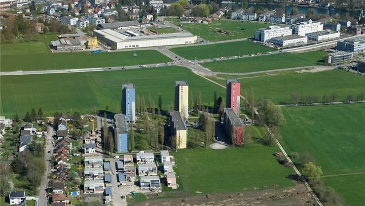 Das räumliche Leitbild definiert das «Weitblick»-Gebiet als prioritäres Entwicklungsgebiet, um den urbanen Lebensstil in Solothurn zu stärken.
