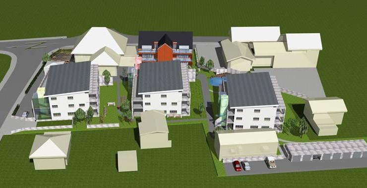 Das mögliche neue Bild des Dorfzentrums von Kriegstetten