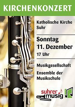 Flyer Kirchenkonzert 2016