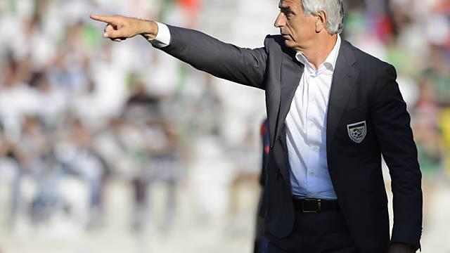 Algeriens Nationaltrainer Vahid Halilhodzic setzt auf Legionäre