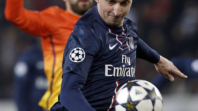 Ibrahimovic trifft in der Nachspielzeit zum Endstand.