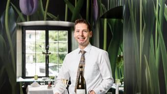 Marcel Caforio arbeitet seit zehn Jahren in der Taverne zur Krone in Dietikon