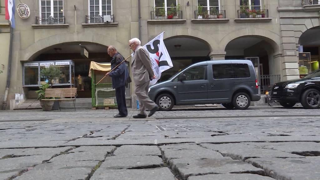 Polizei stoppt 97-Jährigen an 1. Mai-Marsch