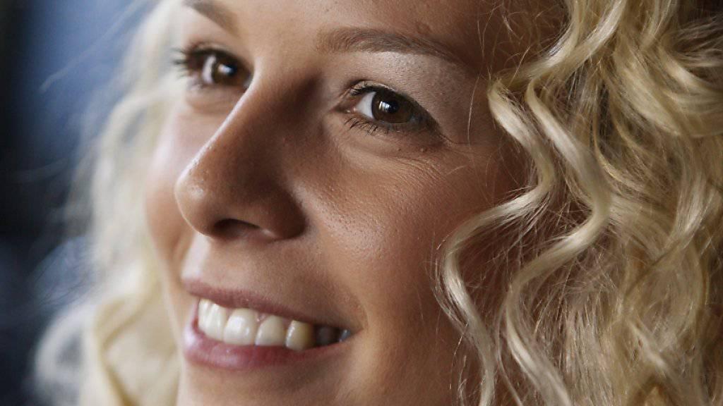 Als sie noch Miss Schweiz war: Linda Fäh im September 2009 in Zürich (Archiv).