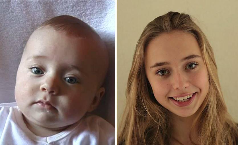 Vom Baby zur jungen Frau: Hier wächst ein Mensch heran