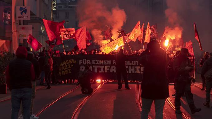Basel: Demonstration «Nazifrei» (28. November 2020)