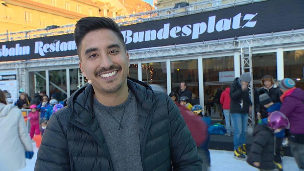 Eisbahn auf dem Bundesplatz, Bern