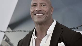 """Verdiente innerhalb eines Jahres 89,4 Millionen Dollar: US-Actionfilmstar Dwayne Johnson (""""Fast & Furious""""). (Archivbild)"""