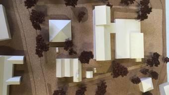 Das Modell für das Neubauprojekt.