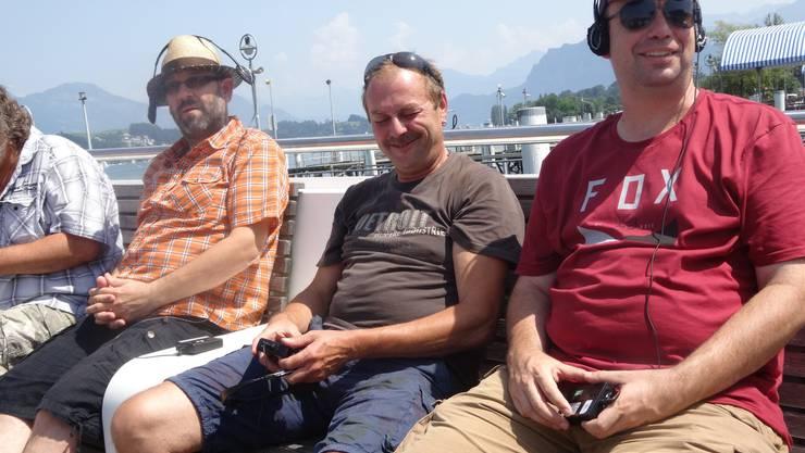 Gemütliche Schifffahrt und erlebnisreicher Foxtrail in Luzern