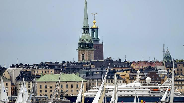 Die Skyline von Stockholm wird nicht zum Olympia-Sujet werden