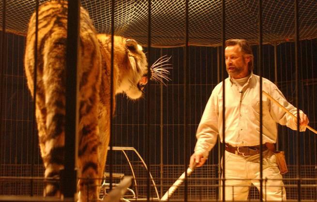 René Strickler in Aktion, das Bild stammt von 2002