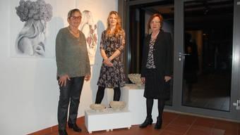 Von links: Hedy Bürki, Jessica Stampfli und Selma Alber.