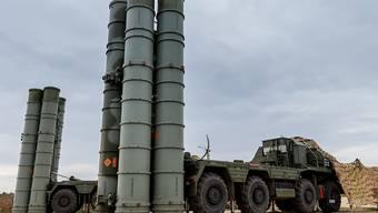 Das Raketenabwehrsystem S-400 wird von Russland auch in Syrien eingesetzt. (Archiv)