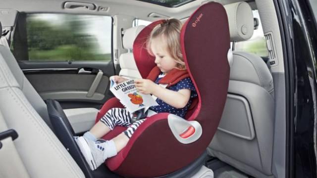 Mehr Sicherheit durch Rückwärtssitzen. Ho