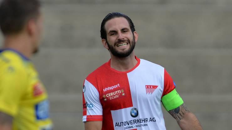 Schade, auch Loic Chatton und der FC Solothurn müssen vorzeitig in die Winterpause.