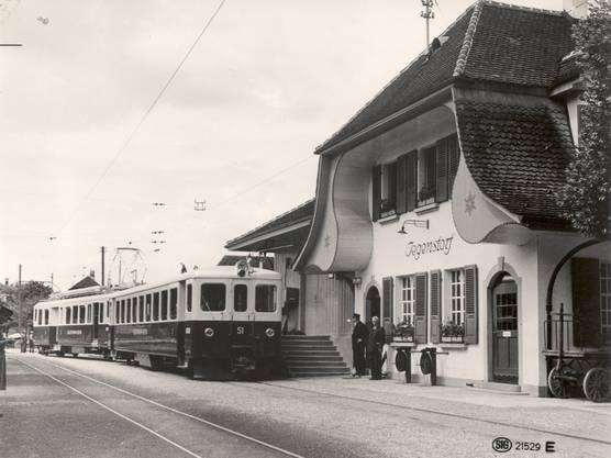 Bahnhof Jegenstorf