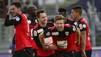 Die besten Fotos von der Partie zwischen dem FC Aarau und dem FC Chiasso
