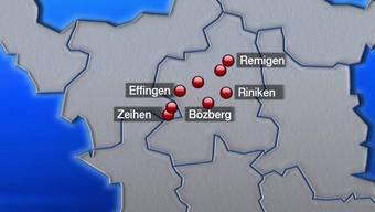Brugg: Jetzt ist klar, wo genau die Bohrplätze hinkommen