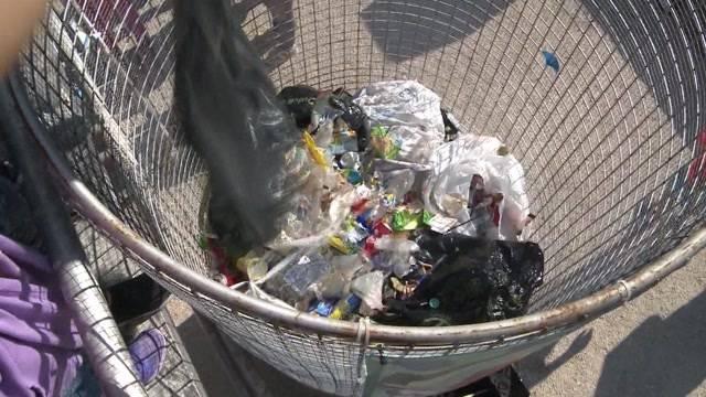 Was Leute alles wegwerfen