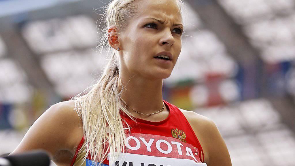 Weitspringerin Klischina von Olympischen Spielen ausgeschlossen