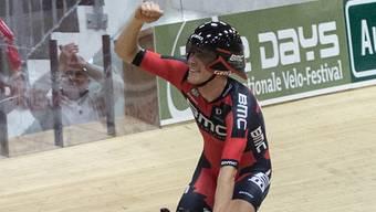 Rohan Dennis, der neue Leader im Dauphiné (hier bei seinem Stundenweltrekord in Grenchen)