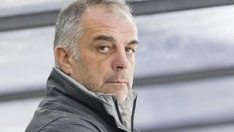 Martigny-Trainer (und Vater von NHL-Star Anze Kopitar) blickt grimmig: Sein Team verliert in Rapperswil