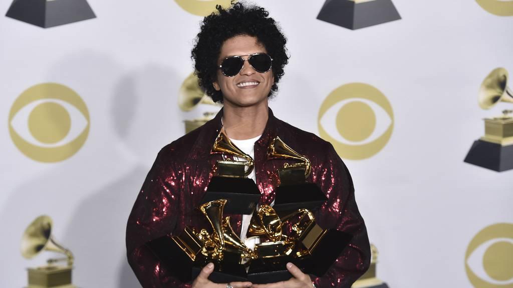 Grammy-Abräumer Mars
