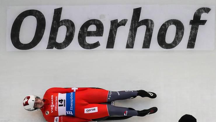 Exploit an der EM in Oberhof: Natalie Maag fuhr auf den 8. Platz