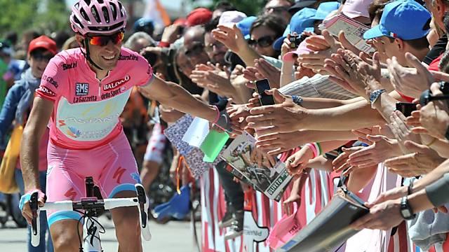 Die Schlussetappe wurde für Vincenzo Nibali zur Triumph-Fahrt