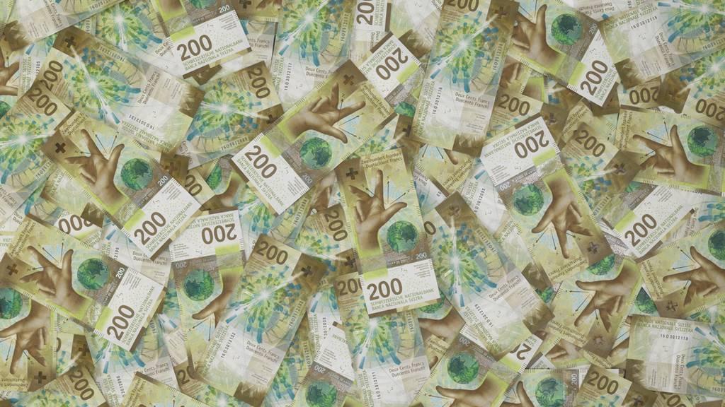 Hoher Nationalbankgewinn beschert dem Aargau Plus von 53 Millionen