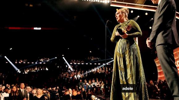 Grammies: Adele fünf Mal ausgezeichnet