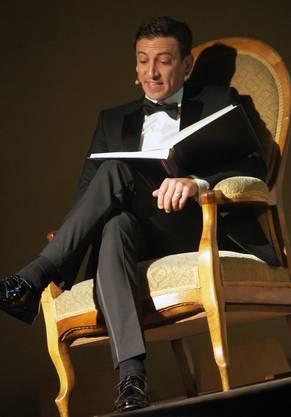 Schauspieler und Moderator Rolf Sommer.