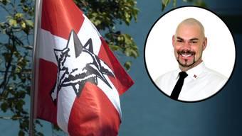 Raphael Rotzer ist Mitglied der Partei national orientierter Schweizer (Pnos) und übernahm im Februar das Präsidium der lokalen Sektion der Gewerkschaft des Verkehrspersonals SEV.
