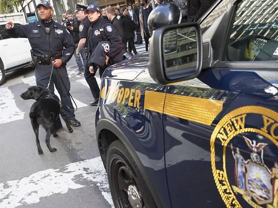 Amerikanische Sicherheitskräfte haben am Donnerstag den Fund weiterer Briefbomben bekanntgegeben.
