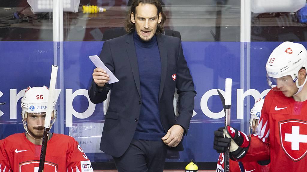 Patrick Fischer ist überzeugt, dass die Schweiz Weltmeister werden kann. Dieses Vorhaben muss er nun um ein weiteres Jahr verschieben
