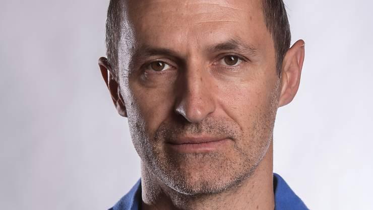 Thomas Häberli, auf diesem Bild vom September 2017 noch Stürmer-Trainer der Schweizer U17-Nationalmannschaft, ist neuer Trainer beim FC Luzern