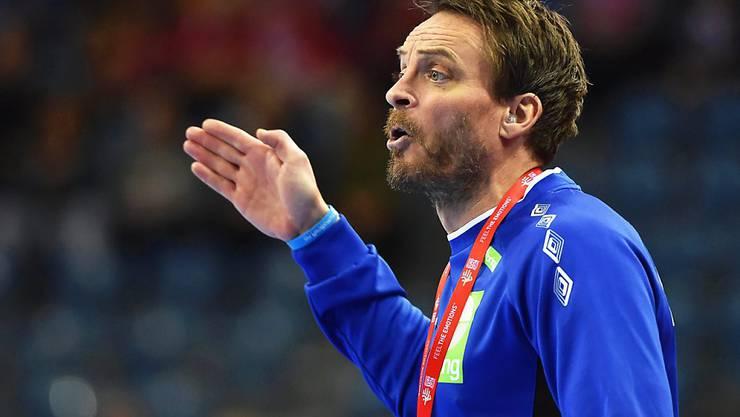 Rolle rückwärts: Die Norweger mit Trainer Christian Berge ziehen den Protest zurück und akzeptieren die Halbfinal-Niederlage