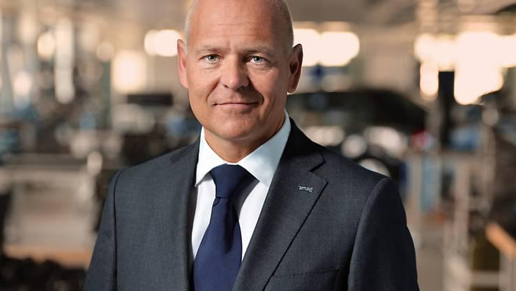 Amag-Chef Morten Hannesbo