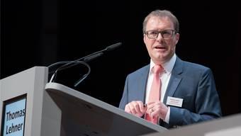 """Raiffeisen-Zofingen-Chef Thomas Lehner sagt: """"Einfach wird es nicht werden."""" (Archiv)"""