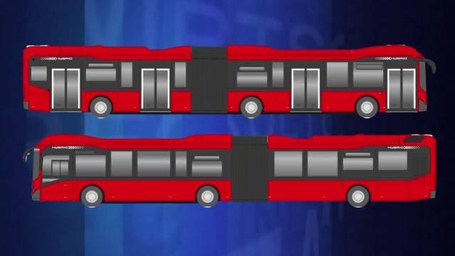 21 Hybridbusse ersetzen Diesel-Fahrzeuge