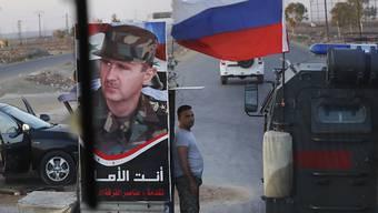 Die russische Militärpolizei will die Pufferzone auf den syrischen Golanhöhen sichern.