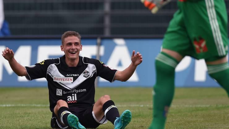 Luganos Matchwinner gegen St. Gallen: Mattia Bottani