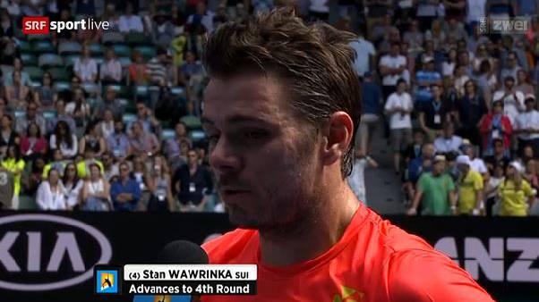 Wawrinka scheitert im Achtelfinal der Australian Open