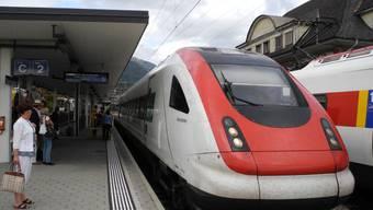 Der Bahnhof Nord mit seinem Anschluss an den Jura und Basel ist für Grenchen wichtig.