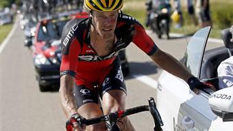 BMC-Profi Daniel Oss darf am Donnerstag das Leadertrikot am Tirreno überstreifen