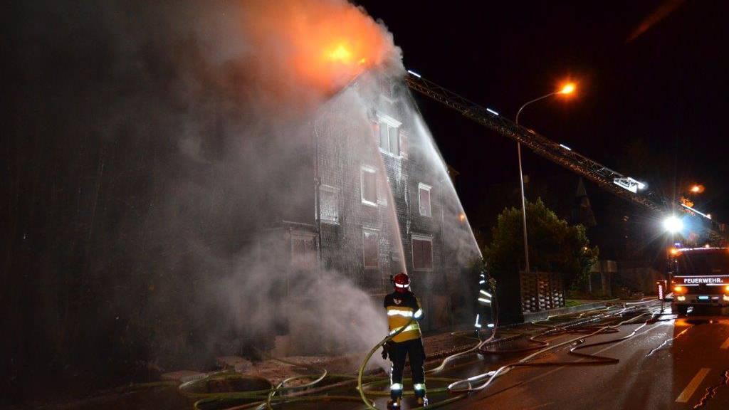Die Feuerwehren Gossau und Herisau brachten den Brand schnell unter Kontrolle.