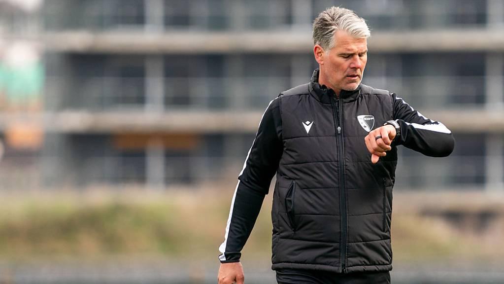 Reicht die Zeit für Sions neuen Trainer Marco Walker noch, um die Walliser auf Platz 8 zu führen?