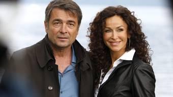 Gubser mit seiner TV-Film-Partnerin Sofia Milos (Archiv)