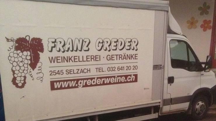 An der Bellacherstrasse in Selzach wurde dieser Lieferwagen gestohlen.